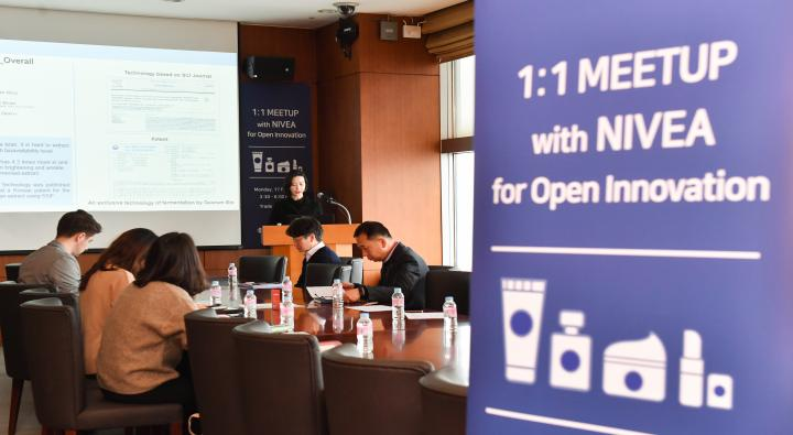 Beiersdorf of Germany and Domestic Start-up Meet-up
