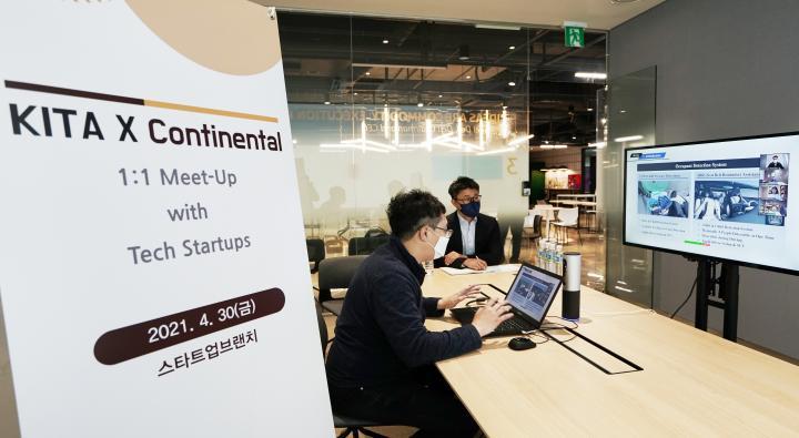 1:1 Online Business Meet-up between Continental Automotive Korea and Korean Startups